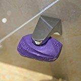 Lugii Cube magnétique Porte-savon Mode adhérence Mur Porte-savon évier de salle de bain Argent