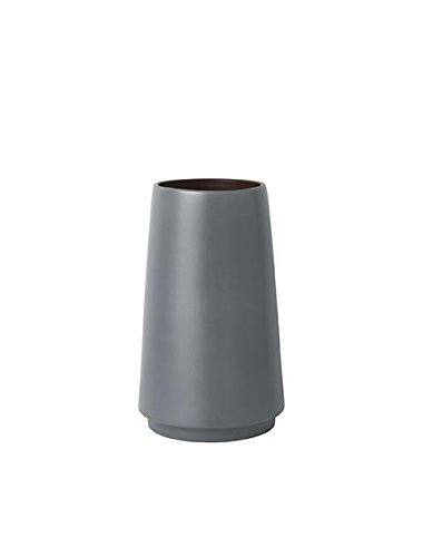Ferm Living Vase Double en Forme de S Gris Ø 19 x 31 cm