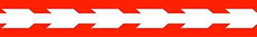 American Crafts Große Arrows-Ribbon grosgreen .875-inch, Acryl, Mehrfarbig -