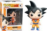 Preisvergleich Produktbild Dragonball Z POP! Son Goku Vinyl Figur Black Hair Exclusive 10 cm