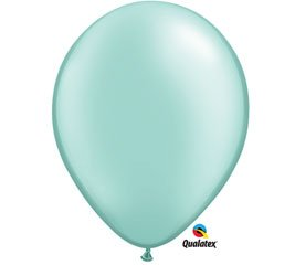 Mayflower Balloons 6528 5-Zoll-Perle Mint Green Latex Packung mit 100 St-ck