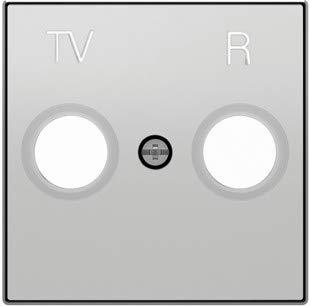 Niessen 8550 Tapa Toma TV-R SIN Filtro PL, Plata