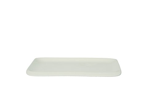 Tognana 28,5 x 18 cm-Infini-Plateau rectangulaire blanc