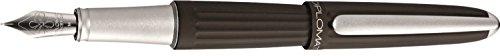diplomat-aero-metallic-edelstahl-finish-breiter-feder-fullfederhalter-braun