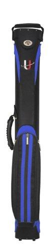 Köcher Universal 1/2 schwarz/blau Billard Queue Tasche