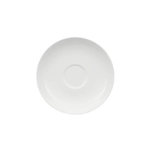 Villeroy & Boch Royal Untertasse, 15 cm, Premium Bone Porzellan, Weiß - Untertasse