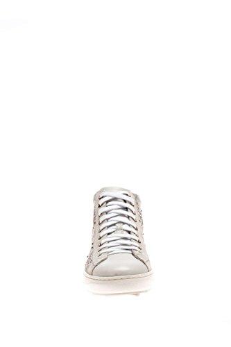 Nero Giardini Damen Sneaker High p615241d-707Hohe Sneaker Leder Bianco