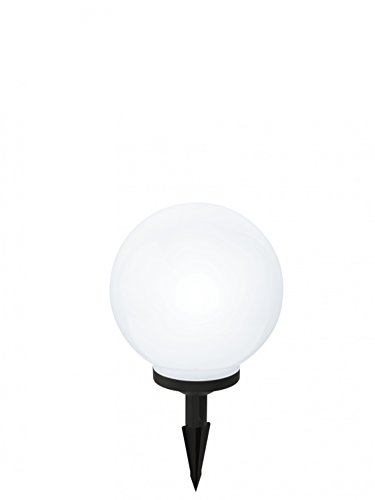 SOLAR-LED KUGEL Durchmesser 250mm blanc M.épi - FARBWECHSLER RGB