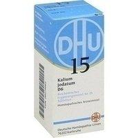 DHU Schüßler-Salz Nr. 15 Kalium jodatum D6, 80 St. Tabletten