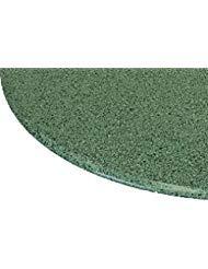 Tischdecke rund 91,4cm zu 121,9cm Elastic Edge Spannbettlaken Vinyl Tisch Cover Granit poliert Muster grün - Edge Kindersicher