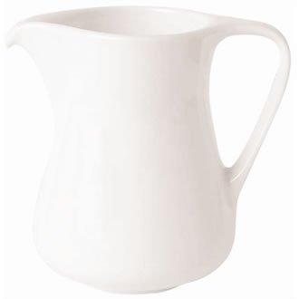 Classique Blanc Capacité Creamer: 100 ml (3,5 oz). Quantité par boîte: 12.