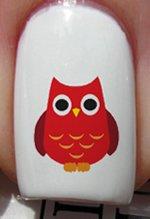 Chaude chouette - Stickers pour ongles YRNAILS