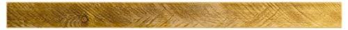 levandeo Wandregal Holz Massiv 100x20cm Eiche Farbig Wandboard Vintage Rustikal Design Natur Regal