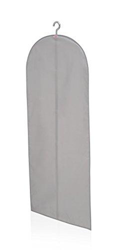 Leifheit 80020 Portatrajes Grande, Tela, Gris, 30 x 23 x 2 cm