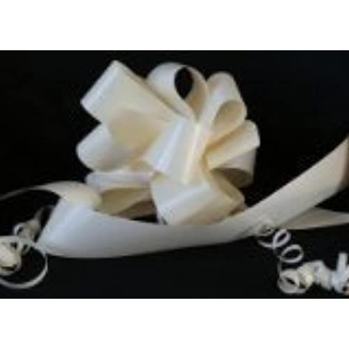 Wedding car decor amazon wedding car kit 6 x 50mm cream ivory pull bows plus 18m of 2 50mm cream ivory florist ribbon the perfect item for wedding cars junglespirit Gallery