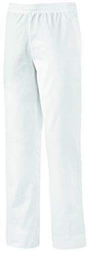 clinicfashion 10614022 Hose Schlupfhose weiß Unisex für Damen und Herren, Langgröße, Mischgewebe, Größe XL-L