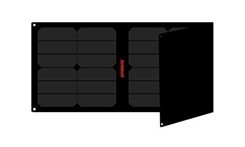 Litionite Arun Pro 40W - 20V/5V Tragbares und faltbares Solarpanel mit Technologie ETFE/SUNPOWER - Automatischer Spannungsregler - 1x USB - 1x DC - Solarladegerät für Laptop/Power Bank/Smartphone