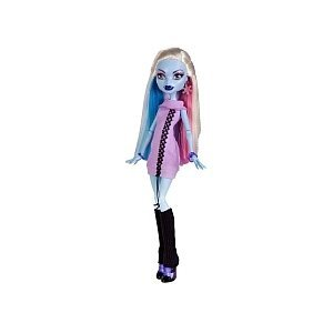 Monster High X4492 Abbey Bominable mit 3 Moden - Daughter of the (Haare Monster High Lila)