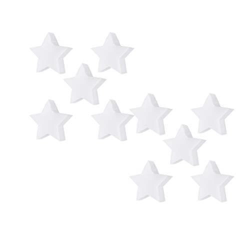 FLAMEER 10 Piezas Esponjas Forma Pulpo/Estrella, Esponja