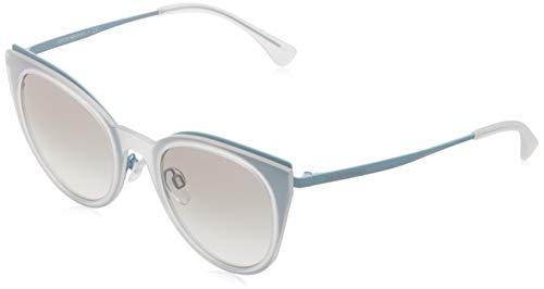Emporio armani 0ea2063 321811 52 occhiali da sole, multicolore (matte turquoise), donna