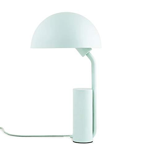 Lampes de table Nordic LED, Bande dessinée Creative Métal Noir/Vert/Rose/Blanc Garçon Fille Éclairage Bureau Lumière Salon européen Chambre Lampe de table d'étude (Color : Green)