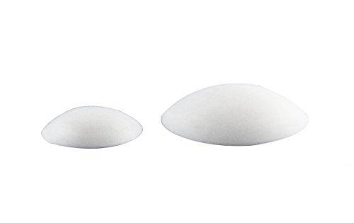 10 Stück Türpuffer, Türanschlag, selbstklebend, Ø 60 mm, Türwandpuffer Türstopper Wandpuffer weiß EKeSys