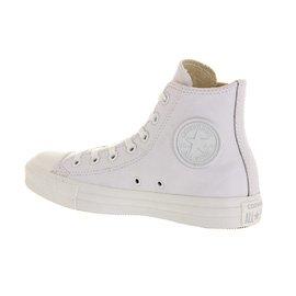 Converse Unisex-Erwachsene Chuck Taylor All Star Adulte Mono Leather Hi Gymnastikschuhe Bianco (White Mono)