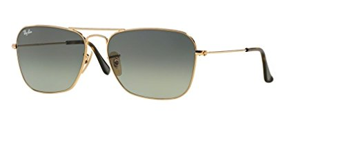 Ray-Ban RB3136 181/71 55M Gold/Light Grey Gradient Dark Grey+Free Complimentary Eyewear Care Kit