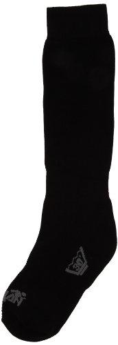RywanPolaire Mi-Bas - Calzetteria Unisex - Adulto  nero Black (nero) 41-43