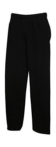 Elastischer Taillenbund mit Kordelzug | Seitentaschen | Offener Beinabschluss | Belcoro® Garn