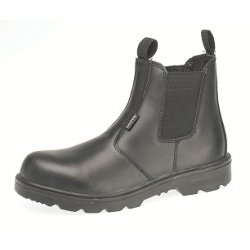 Capps LH829 Antistatic Sole Black Grain Leather Safety Dealer Boot With Steel...