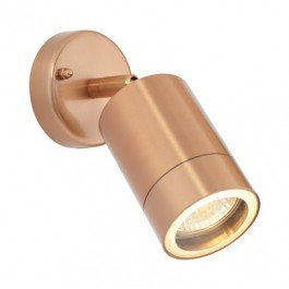 SAXBY LIGHTING ODYSSEY IP44 35W LAMPARA DE PARED (COBRE PLATO)