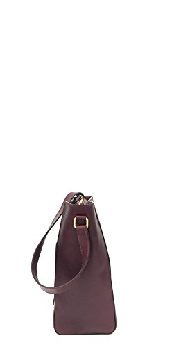 23 oro bordeaux Bridge cm Schultertasche Leder Belleville The x8wIqpZzq