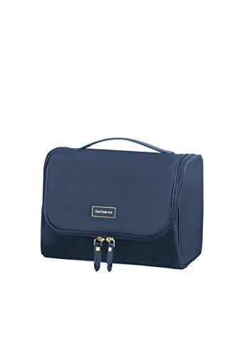 SAMSONITE Karissa Cosmetic Cases Hanging Toilet Kit Beauty Case, 26 cm, Blu (Dark Navy)