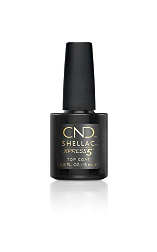 CND Shellac Xpress5 Top Coat, 1er Pack (1 x 7,3ml)