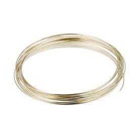 Dead-Soft, Sterling-Silber, halbrund, 22 Gauge, 1.52 meters, Stück: 1