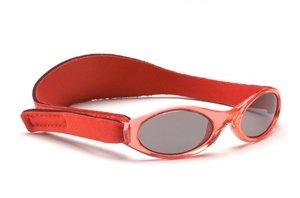 Baby Banz Babysonnenbrille Kinder Sonnenbrille 100% UV-Schutz 0 - 2 Jahre/Rot