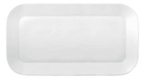 Kahla - Porcelaine pour les Sens 423336A90042C Cumulus Plat de Service Rectangulaire Blanc 40 x 22 cm