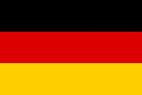 magFlags Flagge: Large Deutschlands | Querformat Fahne | 1.35m² | 90x150cm » Fahne 100% Made in Germany