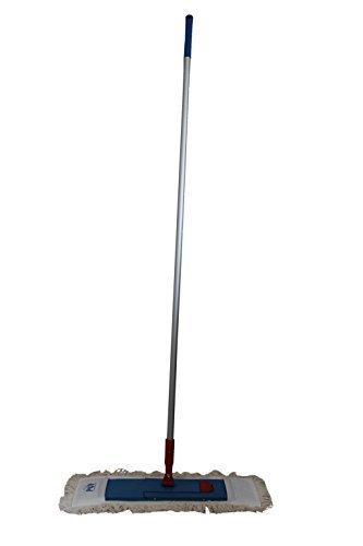Wischmop-Set 3tlg. 50 cm Schlingen-Fransenmopp + Klapphalter + Alustiel Fransenmopp Baumwollmischung Eigenprodukt der Fa. Poller