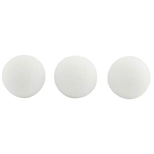 Hygloss Products Styropor-Kugeln zum Basteln, Weiß