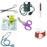 The Ultimate Quality Nurses 8 Piece Kit Includes Sphygmomanometer, Dualhead Stethoscope, Nursing Scissors, Penlight, Keyring Resus Mask, Tough Cut Scissors, Quick Release Tourniquet and a Groovy Pen by Nightingale Nursing Supplies