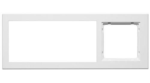 PEHA MP3 AudioPoint Nova-Design Kombi-Rahmen 3-fach, Rahmen Reinweiß