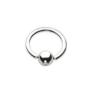 Captive Bead Ring Stahl 1,6mm - 3,2mm (3,2mm x 22mm)