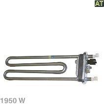 Heizelement, Heizung 1950W mit Temperaturfühler NTC für AEG Electrolux Waschmaschine - Typ: 379230100/8