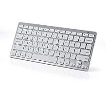 topmate KM1101Mini Teclado Bluetooth PC Suite für Win/10/8/7/Vista/XP und Mac kompatibel Macs MacBook, MacBook Pro, MacBook Air (QWERTY)
