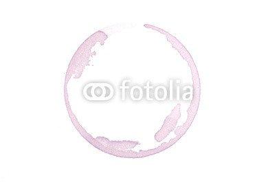 """Leinwand-Bild 140 x 90 cm: """"Rand vom roten Wein"""", Bild auf Leinwand"""