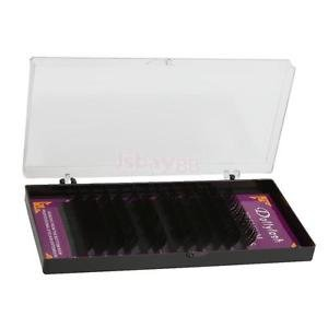Alcoa Prime 12 Rows Individual False Eyelashes Fake Lash Semi Permanent Extensions 9mm