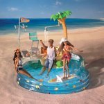 Mattel - Barbie B5205; - California Girl Pool