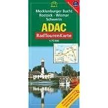 ADAC Radtourenkarte Mecklenburger Bucht, Rostock, Wismar, Schwerin: 1:75000